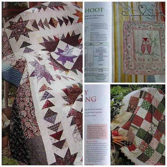Crafts To Stitch Magazine - Quilting Patchwork Applique ...
