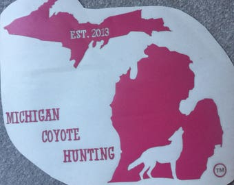 PINK large decal