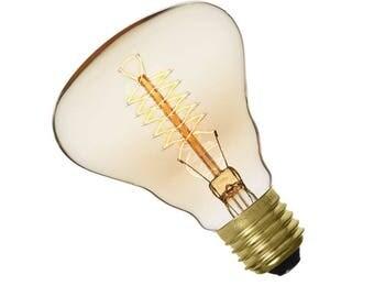 Vintage edison E27 60W R80A bulb