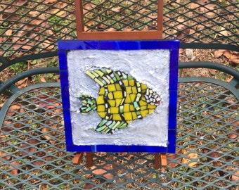 Mosaic Fish Plaque