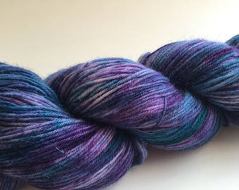 "Dyed To Order: ""Unicorn"" - Purple and Blue 