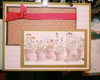Garden Card