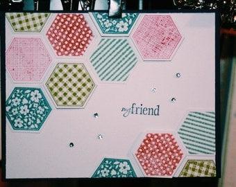 My Friend Card