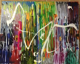 ColourInVibration.Abstract painting, canvas, modern, acrylic painting, Abstract, abstract art ,canvas art, modern, original
