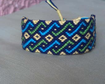 Braided bracelet ,Handwoven bracelet, Friendship bracelet ,Handmade jewelry