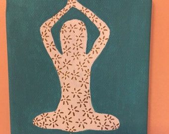 Yoga Pose Canvas