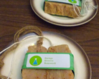 Handmade Natural Soap/2 bars approx.5oz total/Oatmeal Honey