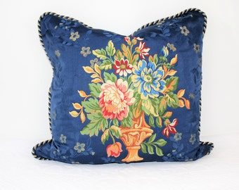 The French collection blue, flower vases, large cushion cover, pillow, pillow, pillow luxury precious precious