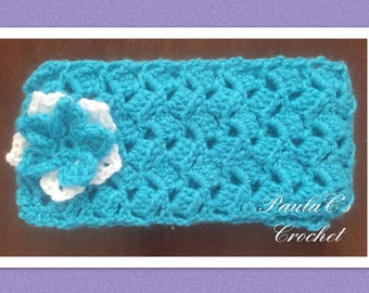 Handmade Crochet Girls Scarf