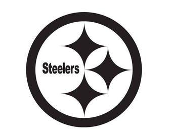 Pittsburgh Steelers NFL Football Team Logo Decal Sticker