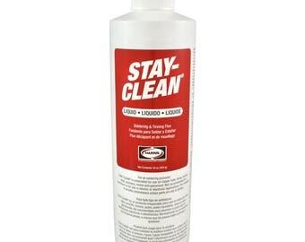 Harris Stay-Clean Soldering & Tinning Liquid Flux 16 ounce Jar, 40003 SCLF16