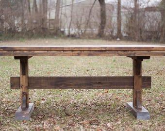 Rustic Farm Table | Custom Table | Wood Farmhouse Table