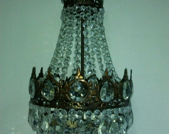 Vintage antique chandelier