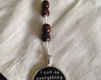 handmade, Christian, bookmark, faith, unique