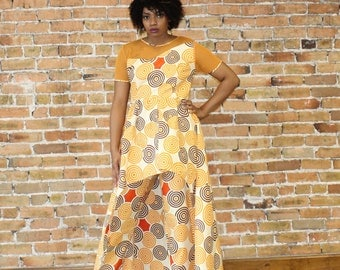 Two Pieces High Low Ankara