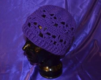 Crochet Skull Cap Beanie