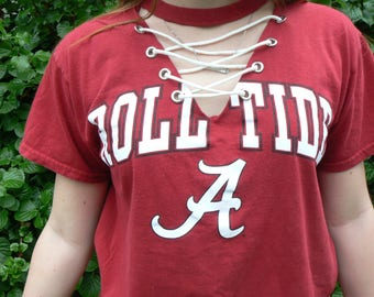 TAILGATE Custom Lace Up Top