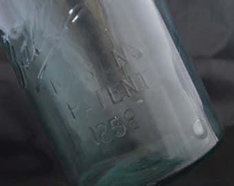 Ball Quart jar patented 1858