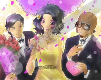 Maxine's Wedding (MaxMoeFoe IDubbbz Filthy Frank drawing)