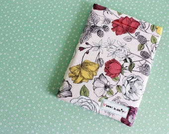 Vintage Rose Book Sleeve