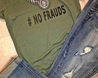 NO FRAUDS TEE, Nicki Minaj tee, Nicki Minaj No frauds tee, No frauds t-shirt, Barbs tee, Nicki Minaj fashion, Nicki Minaj quotes