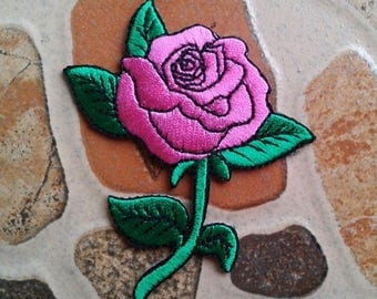 Pink Rose patch.