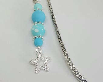 Frost Blue Star Bookmark