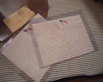 Civil War Letters from Mother to son - 43rd Massachusetts - American Bible Society raising funds for soldiers - Very spiritual letters