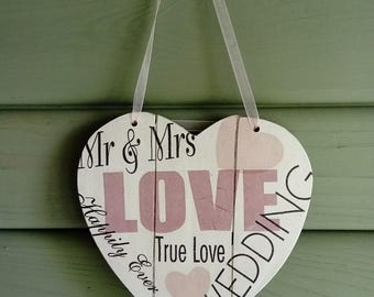 Decorative wedding heart