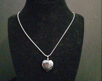 Heart Shape Hemalyke Pendant (Man-Made)