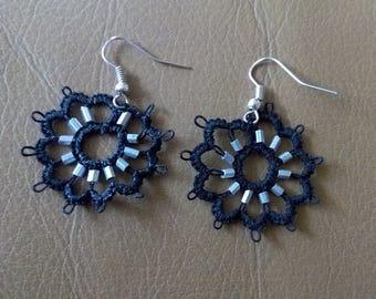 Cartwheel earrings