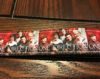 One Direction Key Fob/Chain Wristlet