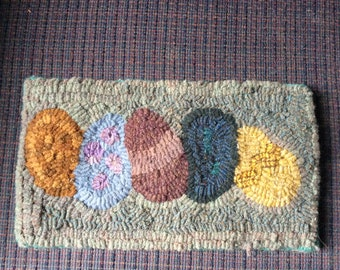 The Yolks on You - Hand hooked rug