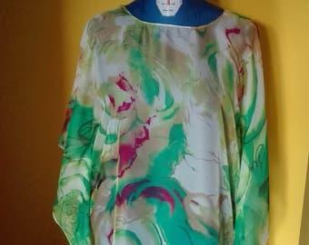 Caftan, vest, jacket, shirt, dress, clothing, women's clothing