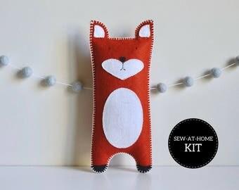 Fox Softie | Sew-at-Home Kit