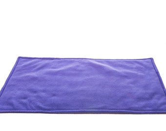 WATERPROOF Guinea Pig, and small animal fleece cage liner lavender 100x54cm