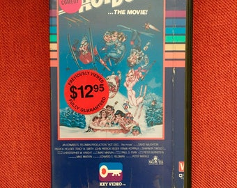Hot Dog The Movie VHS (1984)