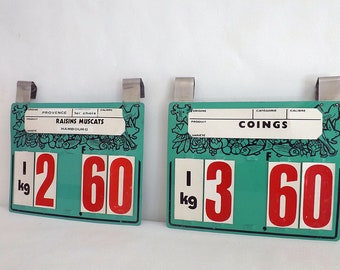 Antique trade plastic hard - Old trademark labels tags