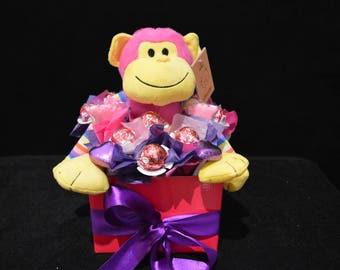 Chocolate Baby Girl Bouquet