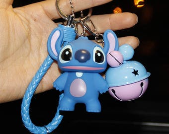 cute Stisch keycahin, Stitch key ring, keychain