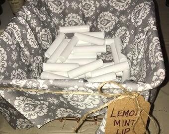 Lemon Mint Lip Balm