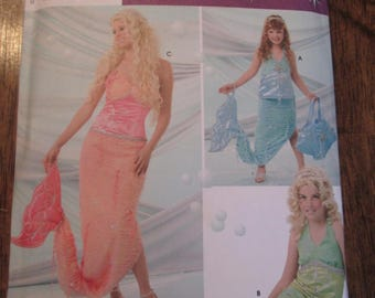 Mermaid Costume, Simplicity 4043, All Sizes.
