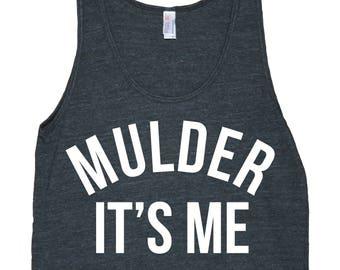 Mulder It's Me Men's American Apparel Tank Top
