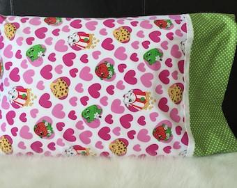 Shopkins Pillowcase, Pillow Sham!!