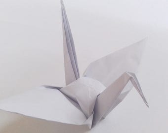 Large White Origami Cranes ** 100 pcs