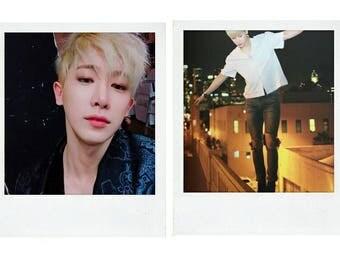 MONSTA X Wonho Polaroid Boyfriend Material