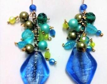 SPRING SKY boho chic earrings