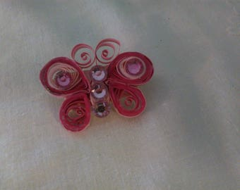 Hand Quilled Brooch - Phoebe