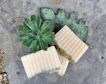 Rosemary Spearmint and Goat Milk Soap