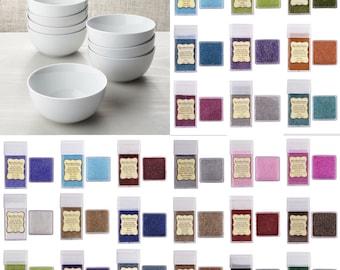 Porcelain Glitter Cereal Bowls